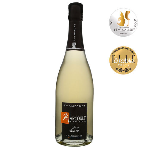 Champagne Michel Marcoult Brut Chardonnay blanc
