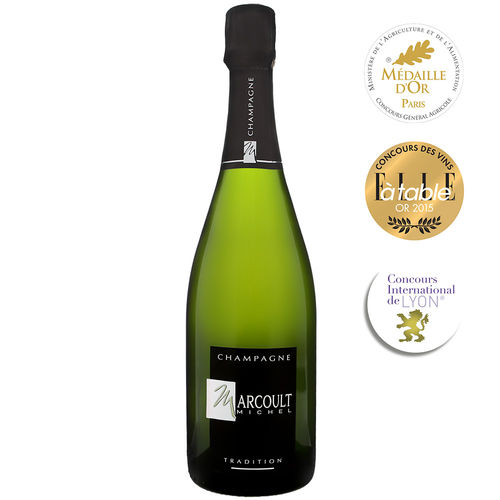Champagne Michel Marcoult Brut Tradition blanc